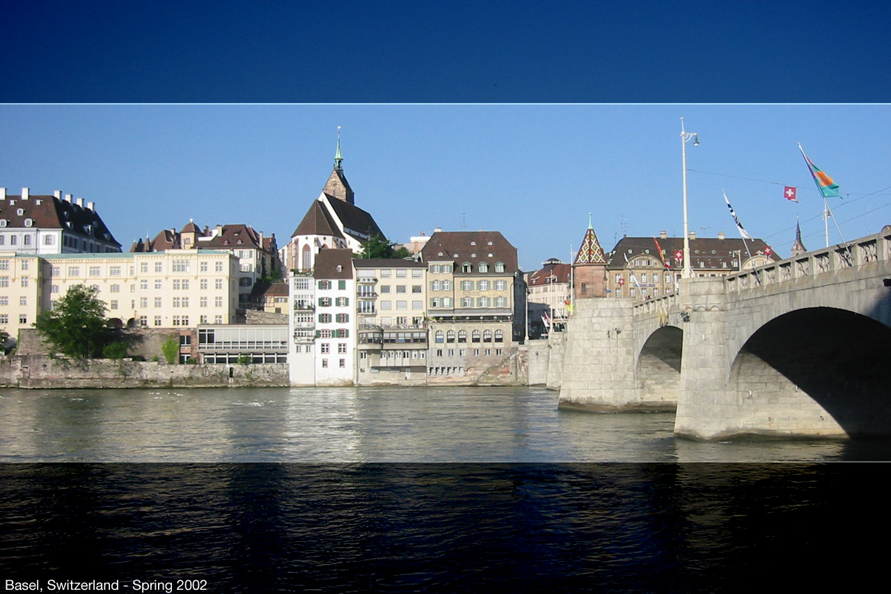 city, Basel Switzerland.